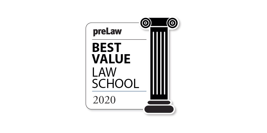 """College of Law named a """"Best Value"""" law school by PreLaw magazine"""
