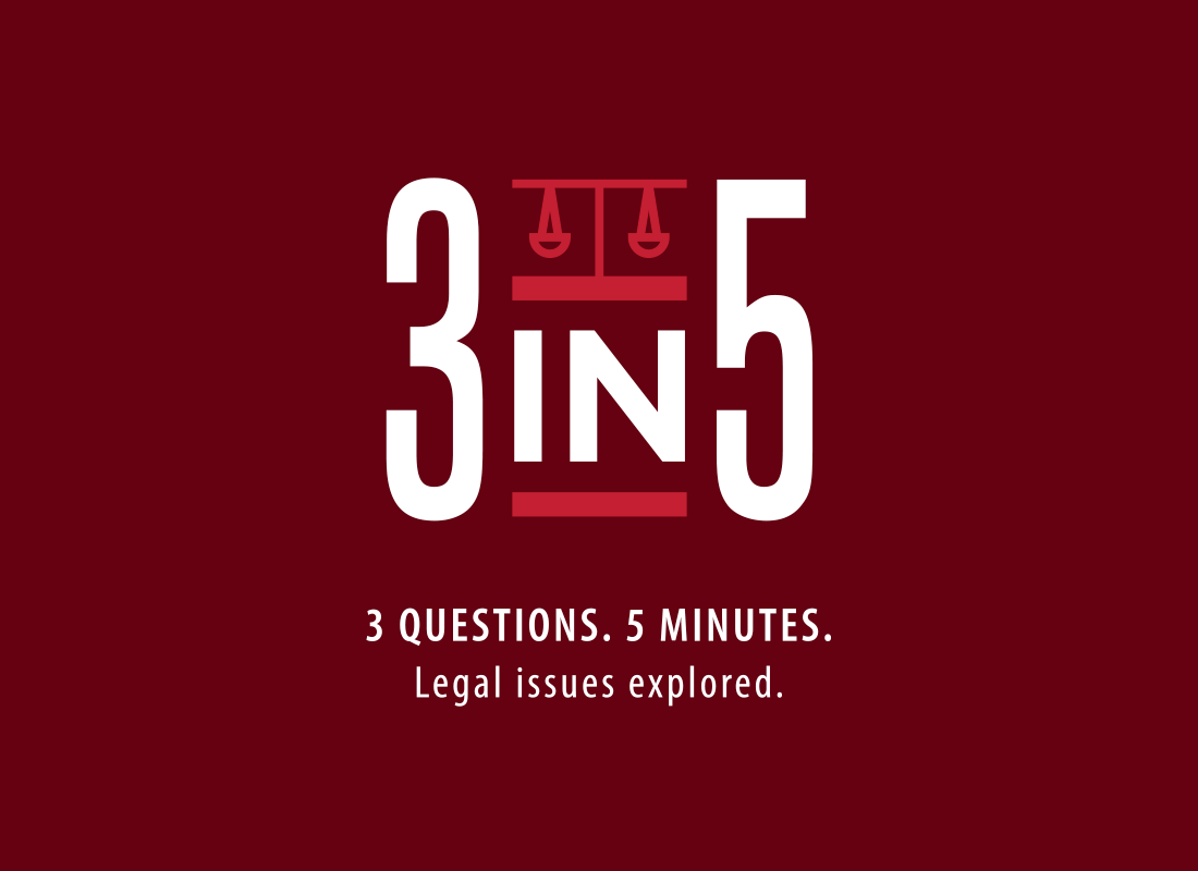 College of Law launches new 3 in 5 podcast about legal research